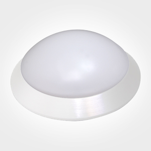 KRYOVER-Downlight de superficie-aluminio blanco-19W
