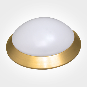 KRYOVER-Downlight de superficie-aluminio dorado-26W